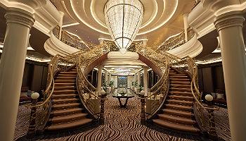 Seven Seas Explorer Atrium © Regent Seven Seas Cruises