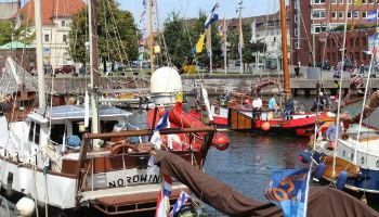 Liegeplatz der Schiffe im Alten Hafen © Mailin Knoke