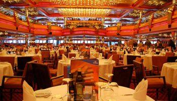 Im Hauptrestaurant New York werden Menüs à la Carte serviert © Melanie Kiel