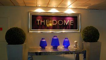 Eingang zum Dome Observatory and Nightclub auf Deck 14 - dem Sun Deck © Melanie Kiel