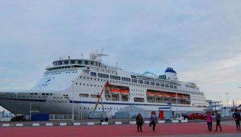 Die Columbus von CMV im Port of Rostock © Melanie Kiel