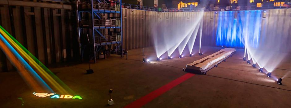 Kiellegung der AIDAnova in Papenburg @ Meyer Werft