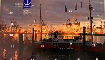 Maritimer Adventskalender 2017 des Duckdalben international seamen's club, des Seemannsheims Hamburg und der Seemannsmission Brunsbüttel © Melanie Kiel