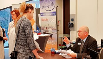 """Jobmesse: """"Cruise Jobs & Hotel Career Lounge"""" © Connect"""