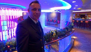 Vuc Malobabic, Hoteldirektor auf der Norwegian Breakaway © J. Rollfinke