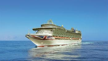 Nimmt Kurs auf Norwegen: die Ventura von P&O Cruises © P&O Cruises
