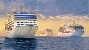 Die Oceania Cruises-Flotte mit der Insignia, Regatta und Nautica © Oceania Cruises