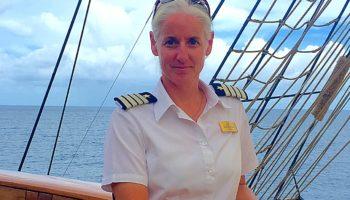 Kathryn Whittaker wird erste Kapitänin auf der SEA CLOUD II © Sea Cloud Cruises
