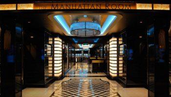 Der Manhattan Room ist eines von drei Hauptrestaurants an Bord der Norwegian Bliss © Melanie Kiel