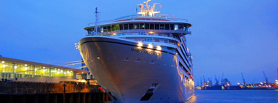 Seabourn Ovation in Hamburg © Melanie Kiel