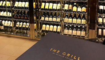 Im The Grill by Thomas Keller gibt's hervorragende Steaks und natürlich auch den passenden Wein © Melanie Kiel
