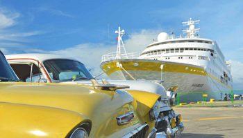 Gleich vier Mal umrundet die Hamburg Kuba © Plantours Kreuzfahrten