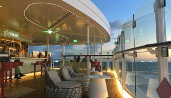 Die Hoheluft Bar auf Deck 15 © Melanie Kiel