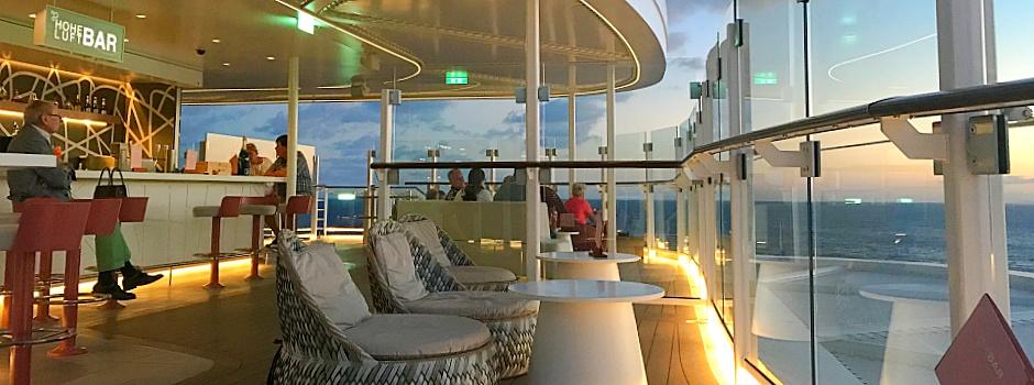 Die Hoheluftbar auf der neuen Mein Schiff 1 © Melanie Kiel