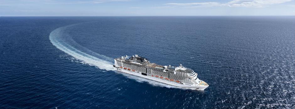 Die MSC Grandiosa © MSC Cruises