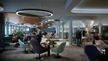 Neu designt von Studio Aisslinger: Die Schaubar auf der neuen Mein Schiff 2 © TUI Cruises
