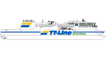 Neues Green Ship © TT-Line