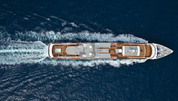 PONANTs Le Boréal auf hoher See © Ponant/Philip Plisson
