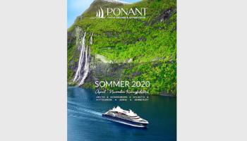 PONANT Katalogcover Sommer 2020 © Ponant