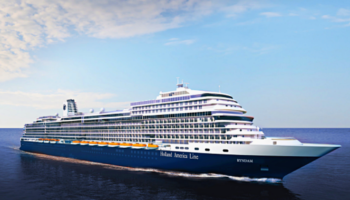 Neues Schiff der Pinnacle-Klasse: Ryndam sticht 2021 für HAL in See © Holland America Line