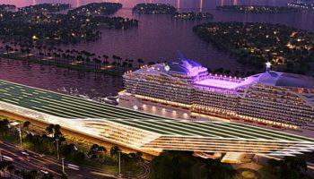 MSC Cruises plant Bau eines Kreuzfahrtterminals in PortMiami © MSC Cruises