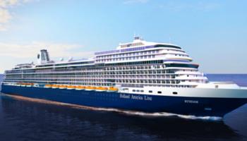 Neues Schiff der Pinnacle-Klasse: Ryndam sticht 2021 für HAL in See © Holland America Line