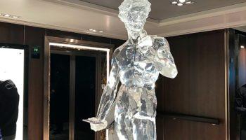 Hingucker und Lieblingsmotiv: Die Kopie der berühmten David-Statue von Michelangelo © Melanie Kiel