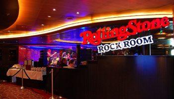 Rolling Stone Rock Room auf der Nieuw Statendam © Melanie Kiel