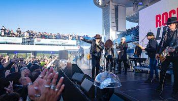 Der sechste Rockliner von TUI Cruises ist in Kiel gestartet © TUI Cruises