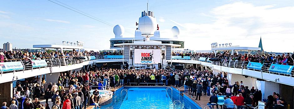 Der Rockliner von TUI Cruises © TUI Cruises