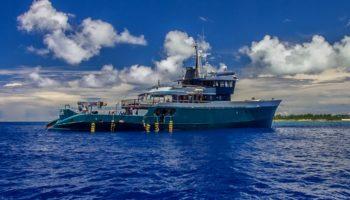Die Maya's Dugong © Silhouette Cruises