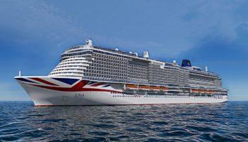 Die neue Iona startet im Mai 2020 zu ihrer Jungfernfahrt © P&O Cruises