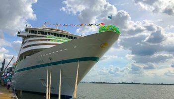 Die MS Amera in Bremerhaven © Melanie Kiel