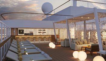 An Deck der MSC Seashore © MSC Kreuzfahrten