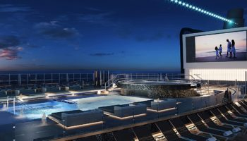 Pool der MSC Seashore © MSC Kreuzfahrten