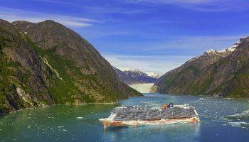 Norwegian Joy vor Alaska © Norwegian Cruise Line