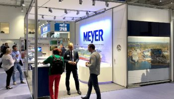 Meyer Werft auf der Seatrade Europe Hamburg © Meyer Werft