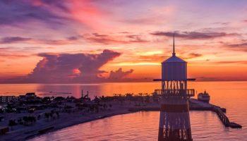 Ocean Cay MSC Marine Reserve, die exklusive Privatinsel von MSC Cruises auf den Bahamas © MSC Cruises
