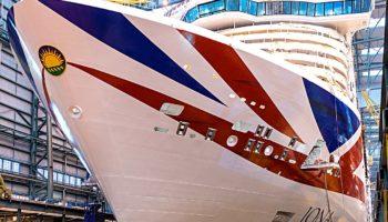 Die Iona von P&O Cruises © P&O Cruises