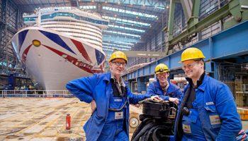 Meyer Werft feiert 225 Geburtstag und liefert 50. Kreuzfahrtschiff © Meyer Werft