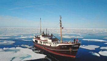 mare-Expeditionsschiff legt im Hamburger Hafen an © Mare