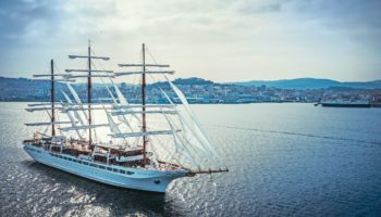 Die Sea Cloud Spirit Foto: Sea Cloud Cruises