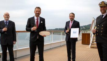 Hapag-Lloyd Cruises übernimmt HANSEATIC spirit in Norwegen Foto: Hapag-Lloyd Cruises