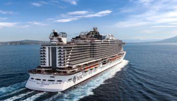 Die MSC Seaview von MSC Cruises