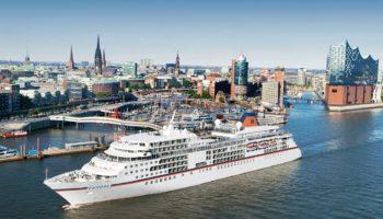 MS EUROPA in Hamburg Foto: Hapag-Lloyd Cruises
