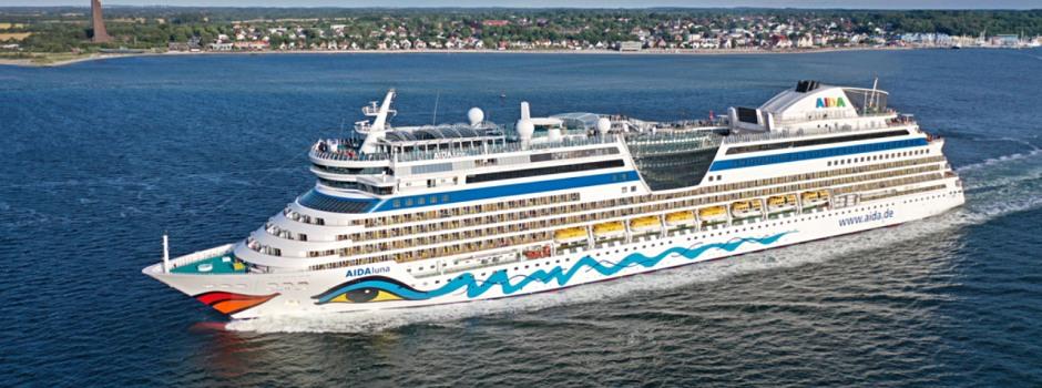 AIDAluna startet ab Kiel Foto: AIDA Cruises
