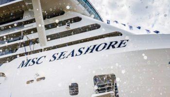 MSC Seashore auf der Fincantieri-Werft © Ivan Sarfatti
