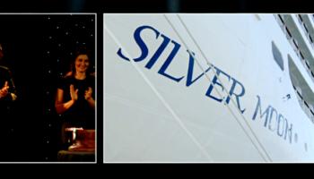 Taufe der Silver Moon von Silversea Cruises