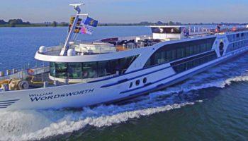 MS William Wordsworth fährt 2021 für Phoenix Reisen auf Rhein, Mosel und Donau